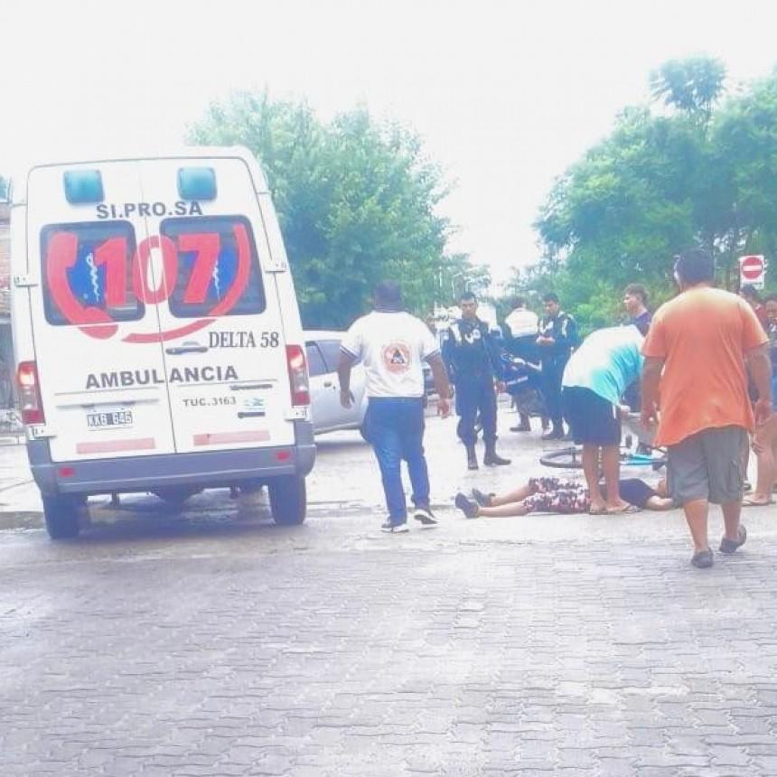 ACCIDENTE EN RIVADAVIA Y COSTANERA
