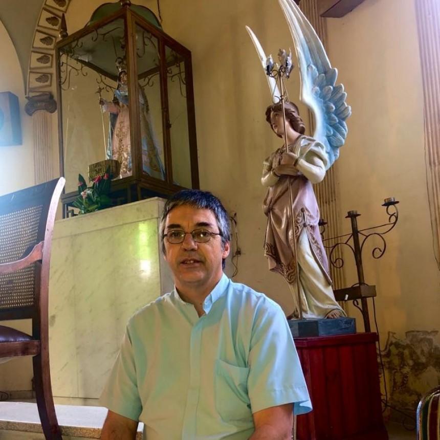 """""""ES UN TIEMPO FUERTE DE LA LITURGIA"""" DIJO EL PADRE HUGO DELGADO, REFIRIENDOSE AL MIERDOLES DE CENIZA, INICIO DE LA CUARESMA CATÓLICA"""