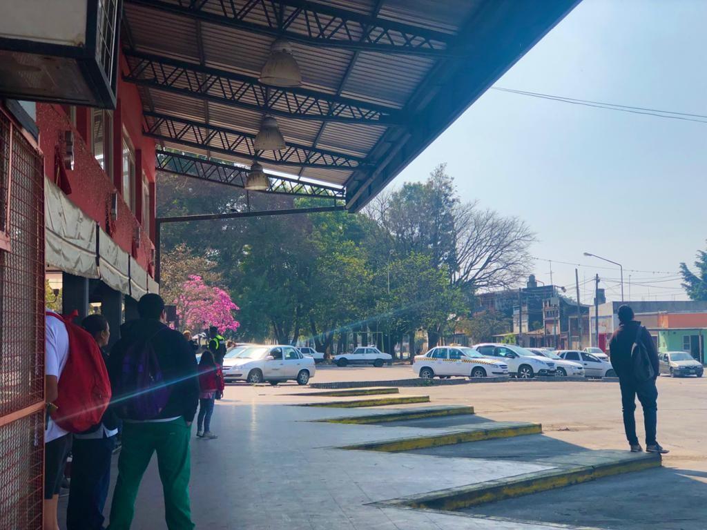 MONTEROS SIN TRANSPORTE, PARO DE UTA