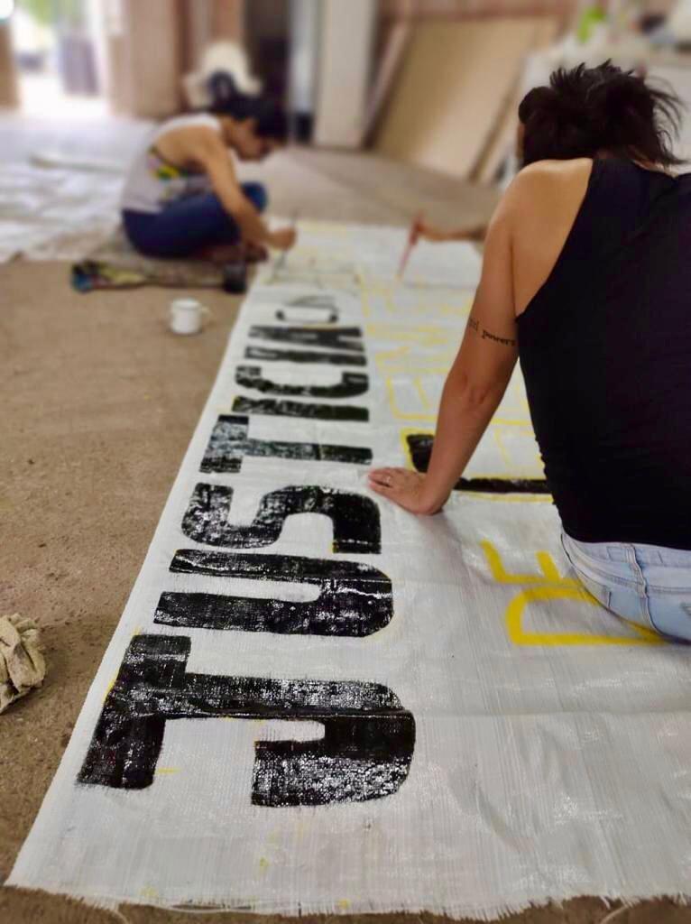 """SORORIDAD ACTIVA MONTEROS SE PREPARA PARA """"LA MARCHA DEL 8M"""" Y PARA TODAS LAS ACTIVIDADES DEL MES DE LA MUJER"""
