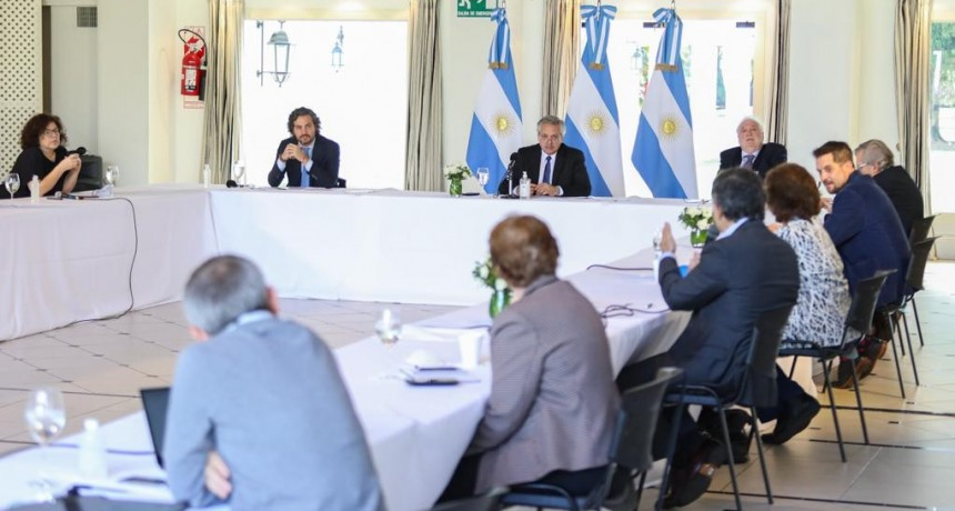 CORONAVIRUS: EL PRESIDENTE SE REUNIÓ CON EL COMITÉ DE EXPERTOS MÉDICOS Y CIENTÍFICOS