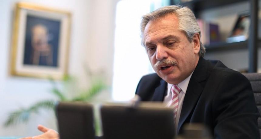 EL PRESIDENTE ALBERTO FERNÁNDEZ MANTUVO UNA COMUNICACIÓN TELEFÓNICA CON SU PAR CHILENO SEBASTIÁN PIÑERA