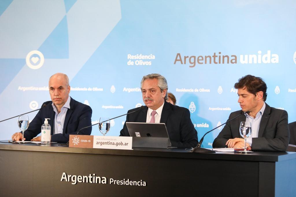 ALBERTO FERNANDEZ ANUNCIÓ LA EXTENSIÓN DEL AISLAMIENTO. LA FRASES CLAVES DEL PRESIDENTE.