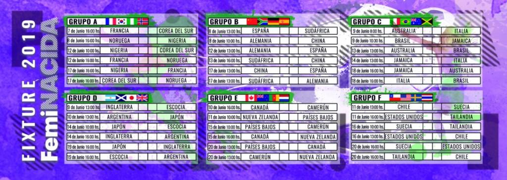 Mundial Femenina de Fútbol Francia 2019