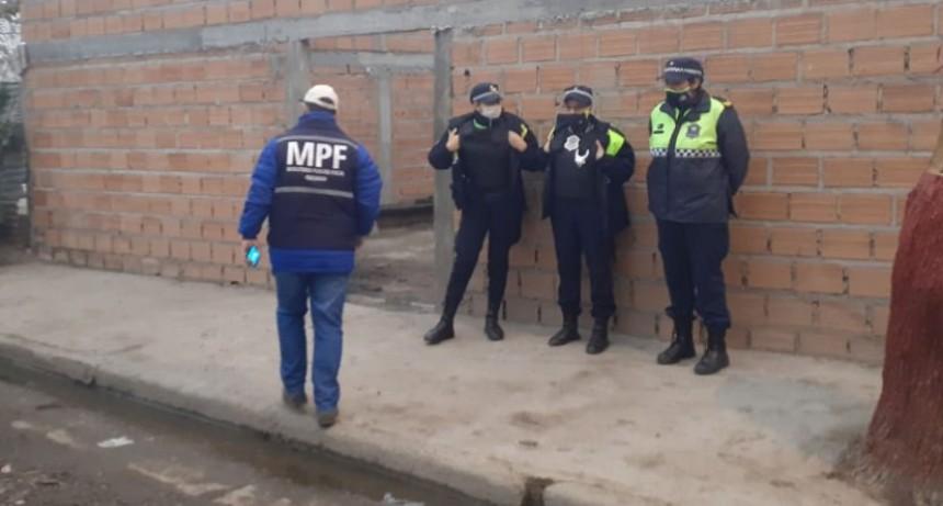 EL MPF REALIZA DESDE LA MADRUGADA NUMEROSOS ALLANAMIENTOS POR DISTRIBUCIÓN Y COMERCIALIZACIÓN DE ARMAS