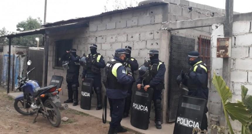 MÁS ALLANAMIENTOS: YA SON TRES LOS APREHENDIDOS POR LA DISTRIBUCIÓN Y COMERCIALIZACIÓN DE ARMAS DE FUEGO