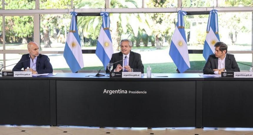 EL PRESIDENTE ANUNCIÓ QUE EL AMBA VUELVE AL AISLAMIENTO ESTRICTO HASTA EL 17 DE JULIO