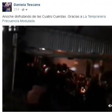 GANADORA ENTRAS RECITAL 4 CUERDAS