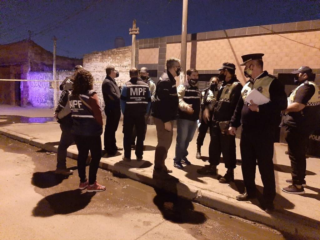 QUEDÓ APREHENDIDO EL PRESUNTO AUTOR DEL CRIMEN DE UNA MUJER DE