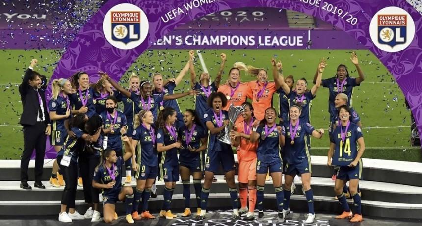 Lyon se consagró campeón por séptima vez en la Champions femenina