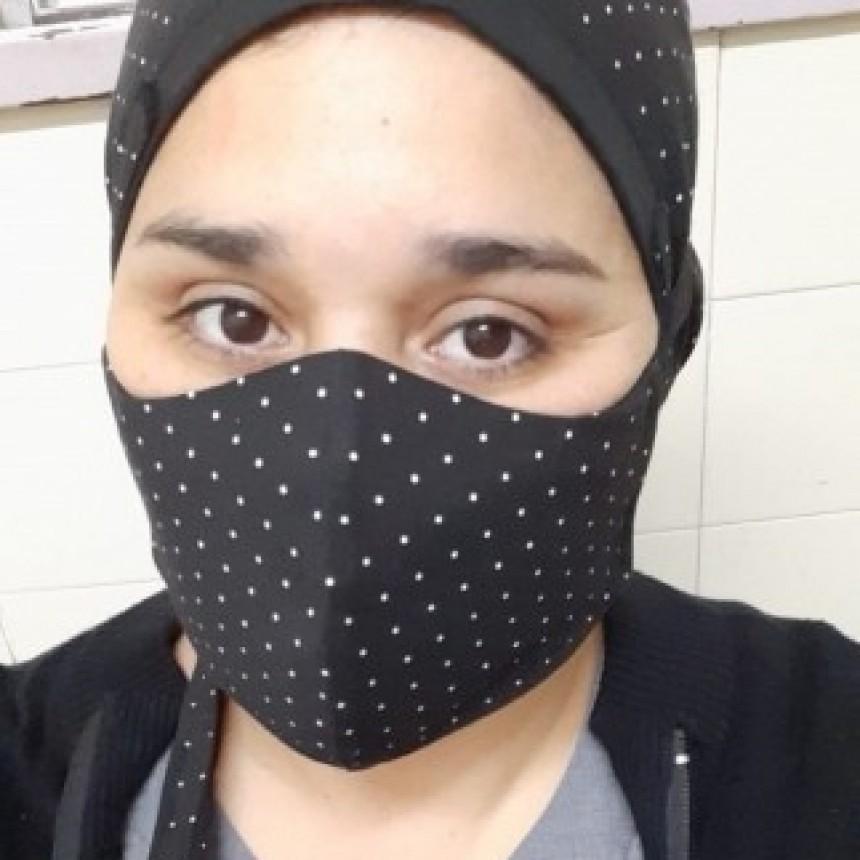 Una enfermera vive en un motorhome para no contagiar a su familia