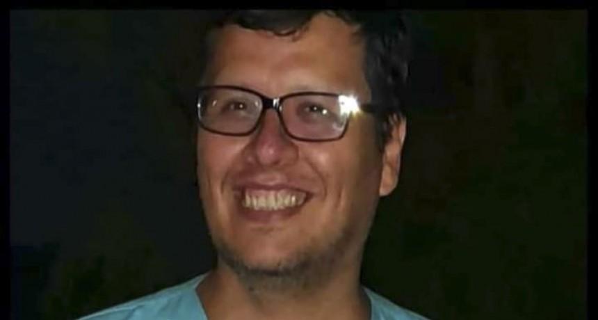 Personal del SAME homenajeó a un médico de 47 años que murió por coronavirus