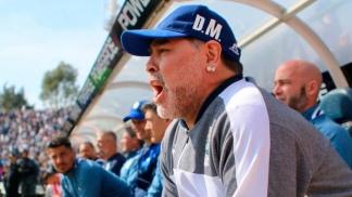 Maradona lamentó los goles