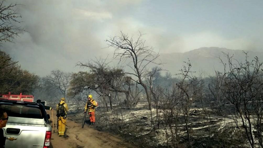 Los incendios forestales quemaron más de 40.000 hectáreas en Córdoba