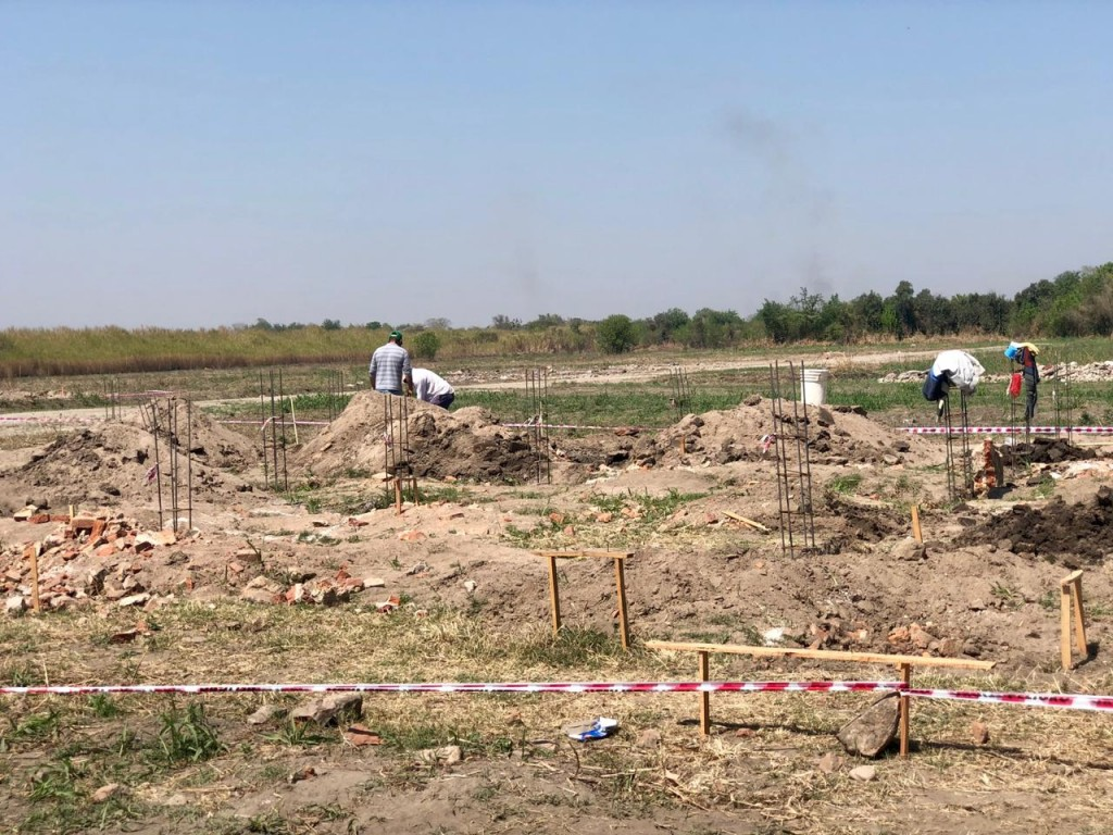 EN CONSTRUCCIÓN UN PREDIO INDUSTRIAL EN LA CIUDAD DE FAMAILLA