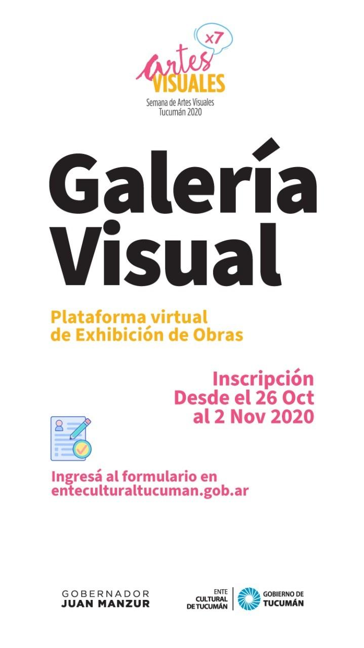 SEMANA DE ARTES VISUALES: GALERÍA VISUAL ONLINE