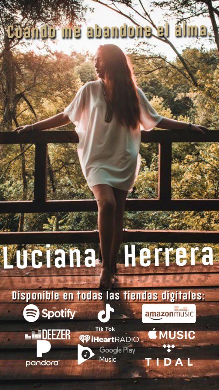 ESTE VIERNES LUCIANA HERRERA PRESENTA SU NUEVO TRABAJO EN LA TEMPRANERA