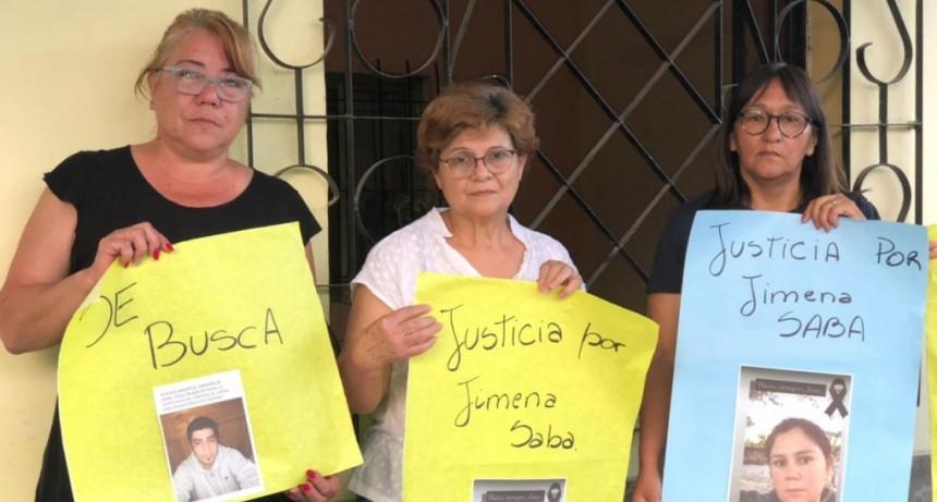 MARCHA PARA PEDIR JUSTICIA POR JIMENA SABA