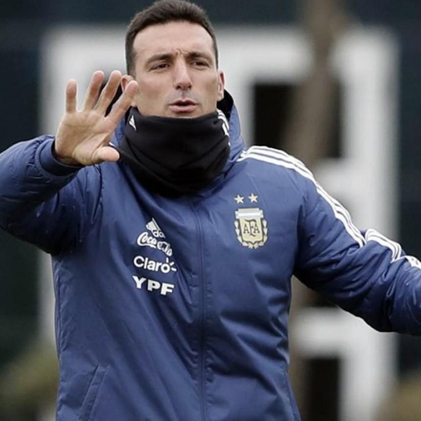 Con Messi en el gimnasio y Lautaro Martínez en duda, Argentina entrenó por primera vez en Mallorca