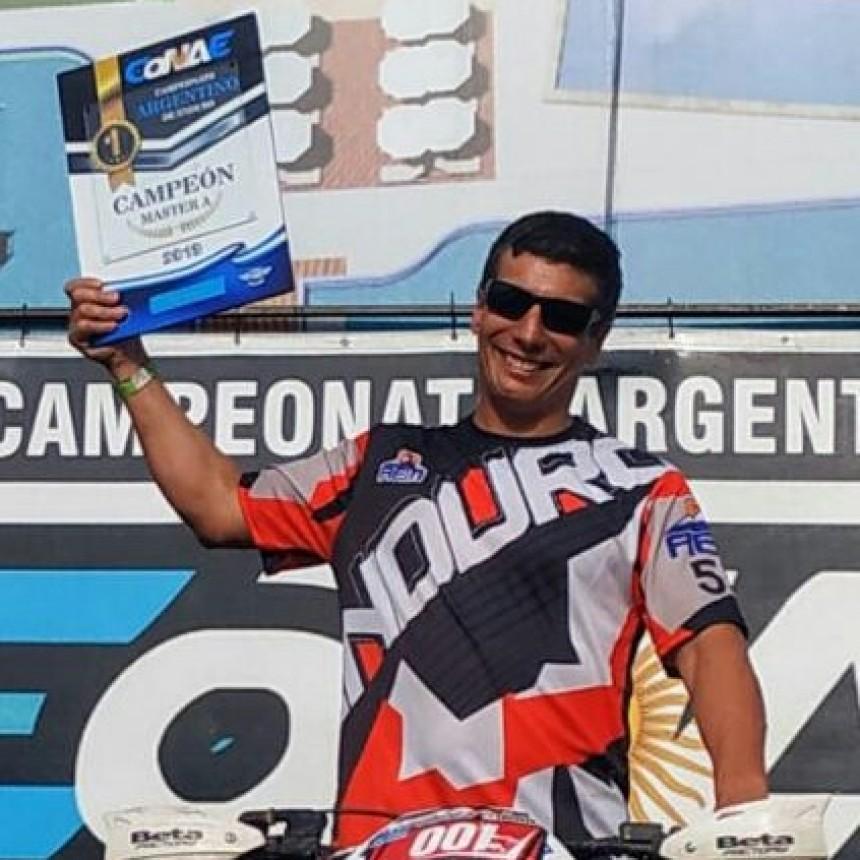 Un Monterizo es Campeón Argentino de Enduro