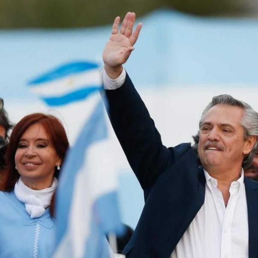 Alberto Fernández y Cristina Kirchner invitan a la ciudadanía al traspaso de mando