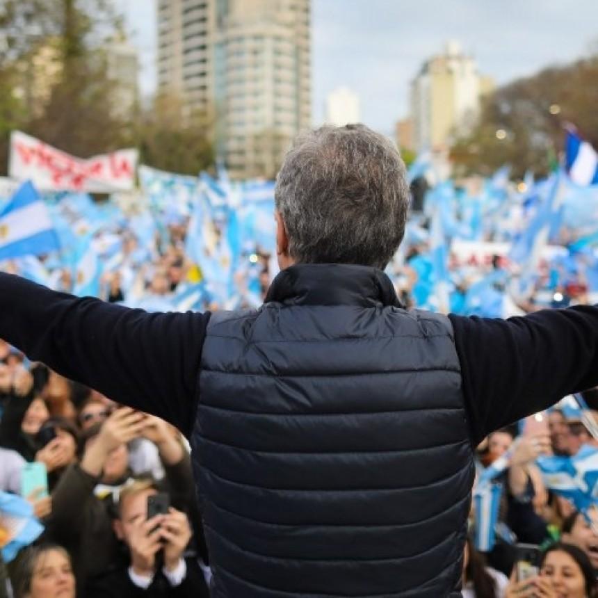 Macri emitió un video de despedida donde dijo que su padre le pedía que