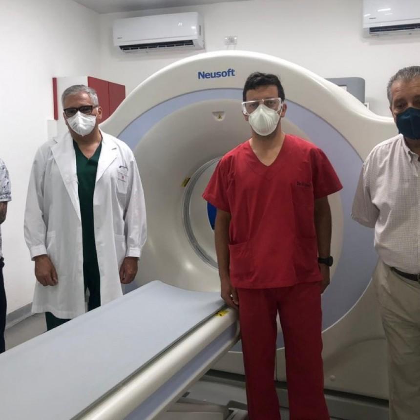 EL SANATARIO RACEDO INCORPORO UN TOMÓGRAFO DE ALTA TECNOLOGÍA